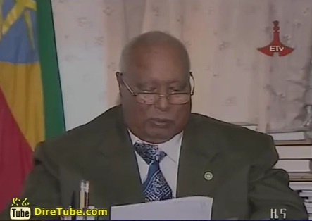 Ethiopian President Girma Wolde-Giorgis Sends best wish for Ginbot 20 Celebration