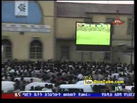 Ethiopian Sport - Fans in Dire Dawa and Mekele After Ethiopia Beat Sudan