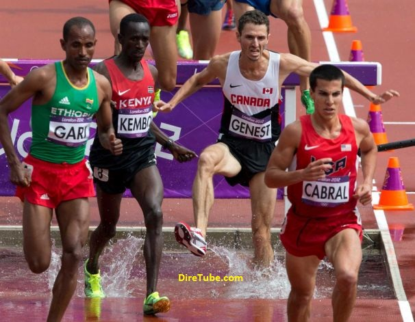 Roba Gari Finished 4th in Men's 3000m steeplechase final