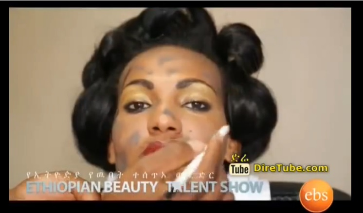 Talent Show - Ethiopian Beauty - The Art of Make Up Competition - Week 3