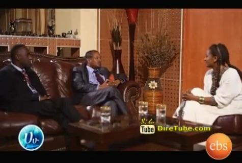 Ha Hu Talk Show - Interview with Eng Mesfin Asfaw and Adoniyas Lesanework - Part 2