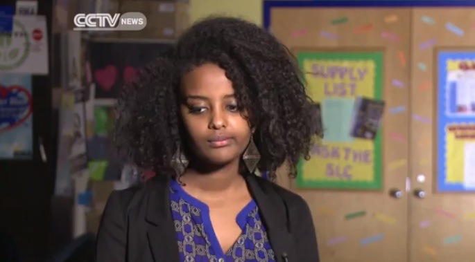 Ethiopian Students in US at Africa is Not a Country Photo Campaign