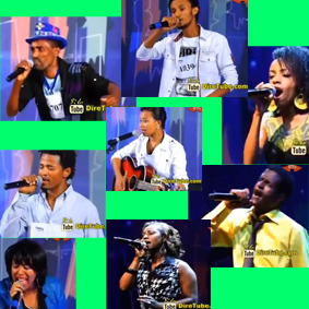 Some of Vocal Contestant Passed through to the 3rd Round Addis Ababa