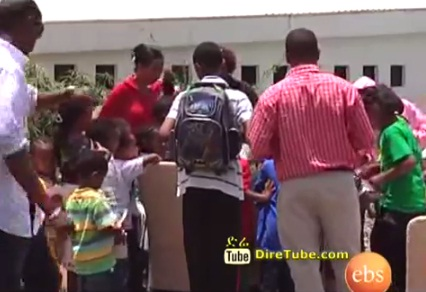 Summer camp for Ethiopian Kids for the First time in Ethiopia