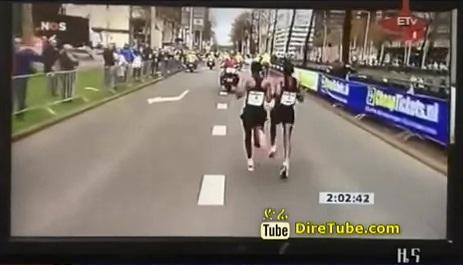 Ethiopian Yemane Adhane wins Rotterdam Marathon