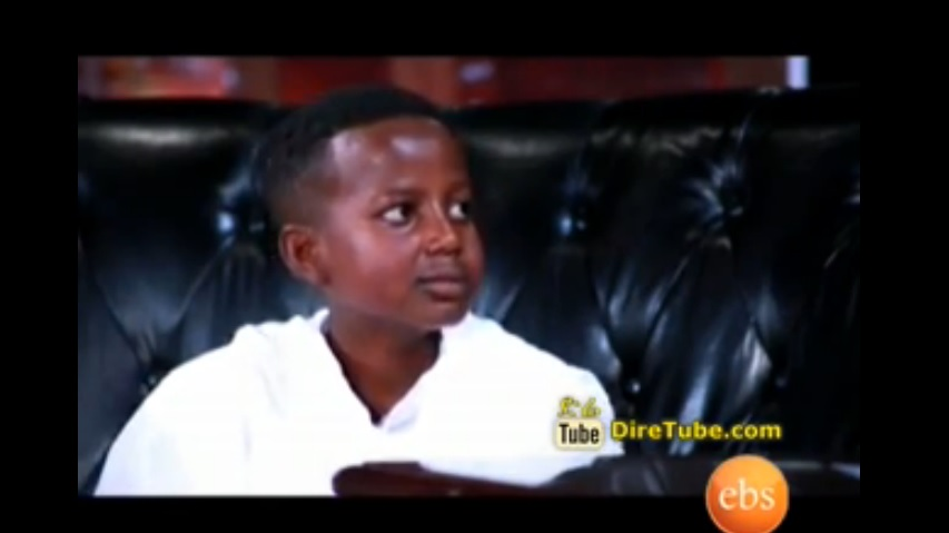 Incredibly Talented 12 Years old Actor Eyob Dawit @Seifu on EBS