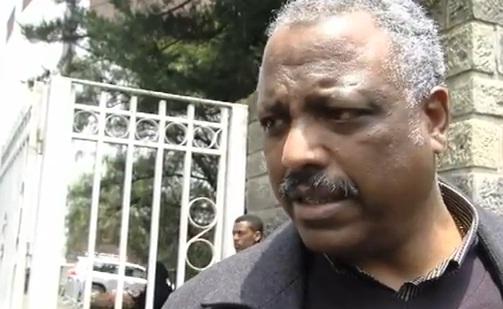 Ato Abadula Gemeda speaking about Ato Meles Zenawi