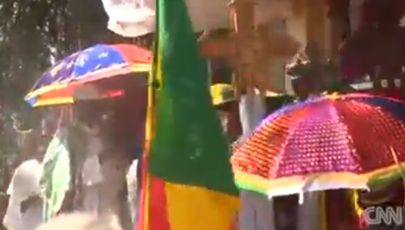 Inside Africa - Holy water washes away sins at Ethiopia