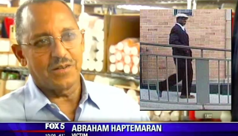 Ethiopian business owner robbed outside of a bank in DC by Well-dressed Man
