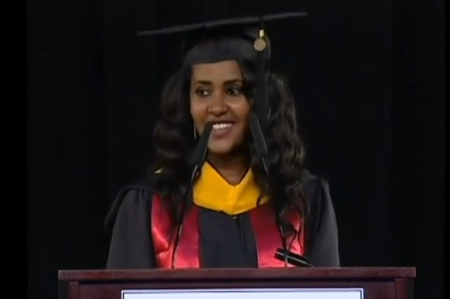 Ethiopian Student, Aden Abiye's Speech at the 2014 Masters Commencement