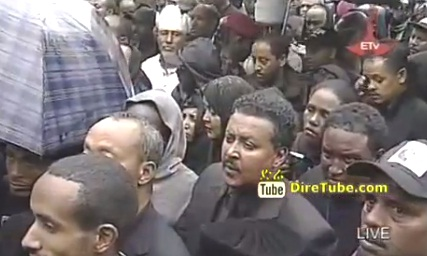 Prime Minister Meles Zenawi laid to rest at Holy Trinity Cathedral - Part 1