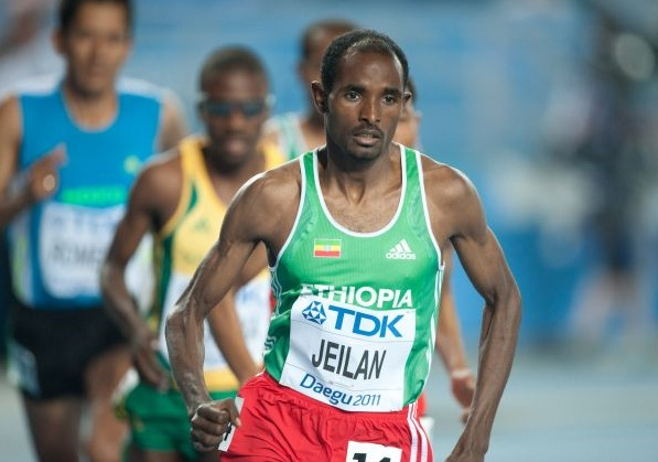 Daegu Champion Ethiopian Ibrahim Jeilan for London Olympic
