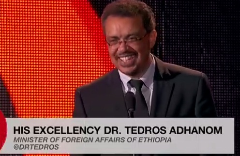Dr. Tedros Adhanom delivered spectacular speech in the Global Citizen Festival