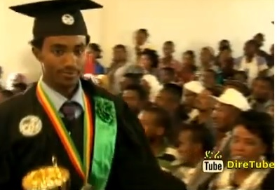 Outstanding Student from Madawalabu University-Alemayehu Dade