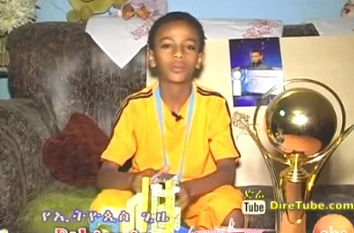 This Amazing Ethiopian kid & others win Best Performing team in India