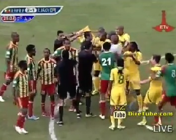 Ethiopian Sport - Extended Game Highlights and Goals Ethiopia Vs South Africa 2 - 1