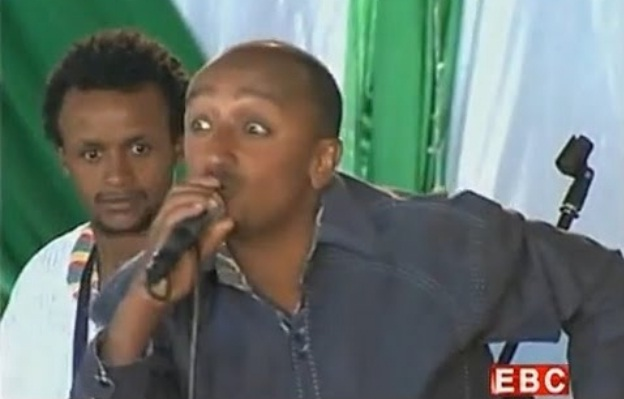 Comedy on Ethiopian Christmas Gena 2007 in Debre Brhan