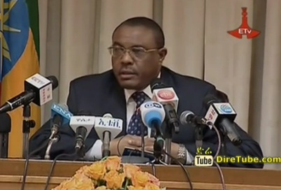 PM Hailemariam Desalegn Meet Local and Foreign Journalists