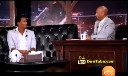 Seifu Fantahun Show - National Team Football Player Salhadin Bargecho on Seifu Show