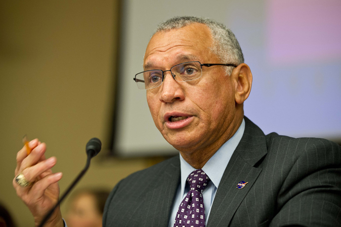 DireTube News - Charles Bolden Administrator of NASA Visiting Ethiopia