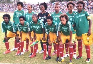 Ethiopian National Women Soccer Team Lucy defeats Twiga Stars 2-1