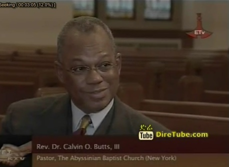 Meet Etv - Interview With Rev. Dr. Calvin O. Bult. lll Pastor. The Abyssinian Baptist Church