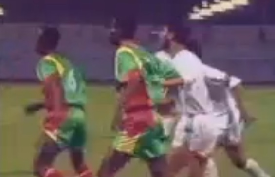 Iraq vs Ethiopian Club 13 - 0 [In The Year 1992 Ahmed radhi Goals]
