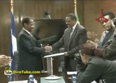 Lesotho and Ethiopia sign a Co-operation Agreement