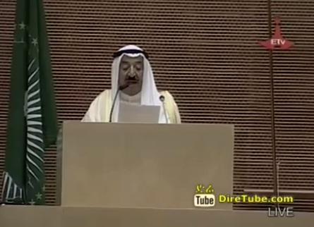 Speech by His Highness the Amir of Kuwait Sheikh Sabah Al-Ahmad Al-Jaber Al-Sabah