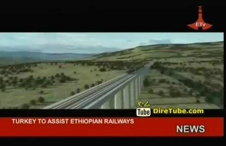 Turkey to Assist Ethiopian Railways