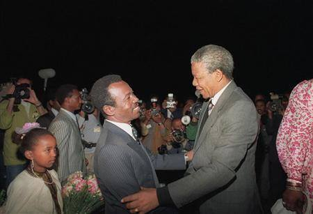 Mengistu Hailemariam Speaks on the Death of Mandela