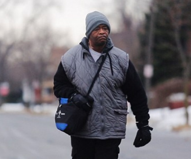 Factory Worker who trudges 21 miles to work every day on foot