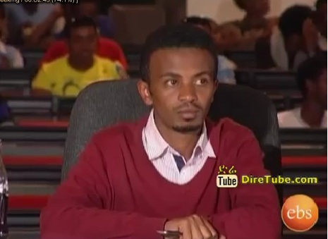 Ephrem Wedajo Vocal Contestant Jan 14, 2013