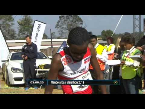 Ethiopia's Eshetu wins Mandela Day Marathon