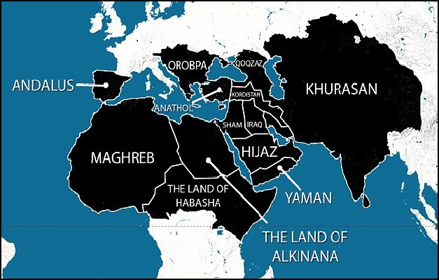 ISIS reveals map showing Ethiopia as part of Islamic Caliphate