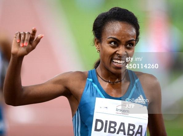 Women's 5000m IAAF Diamond League Rome 2014