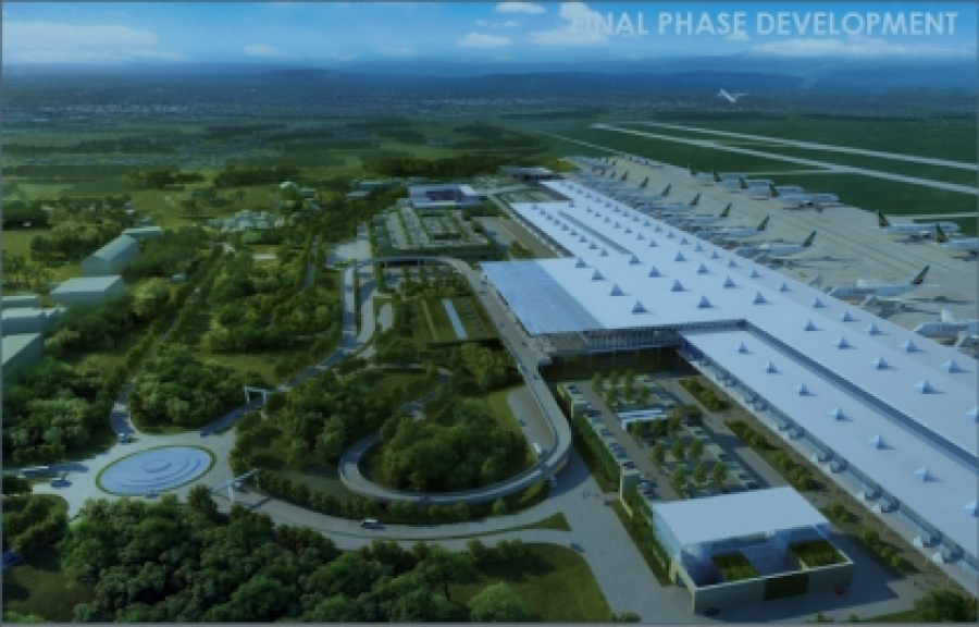 Bole International Airport after Expansion in 3D
