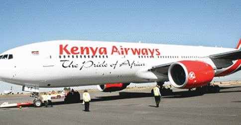 Kenya Airways to suspend Flights to West Africa