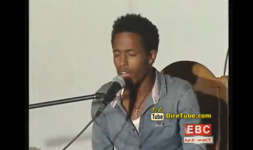 The song of Alemayehu Eshete - Margin, performed by this young keyboardist