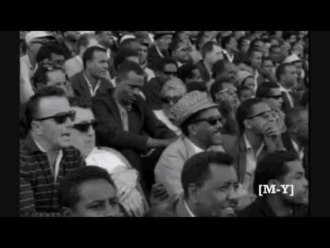 Haileselassie Watching African Cup 1968 Final Game