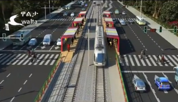 An Amazing 3D model shows how the city light rail looks