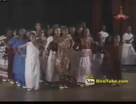 Ethiopian Children cultural show