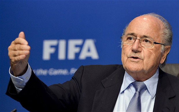 Sepp Blatter calls for Uefa to show 'courage' and challenge him