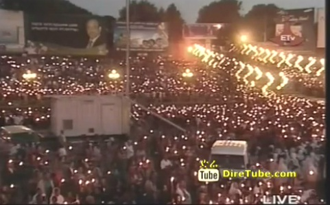 Candlelight Vigil at Meskel Square Full Program - Part 2