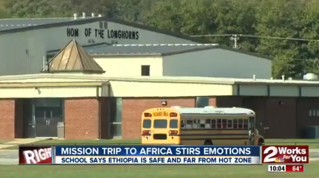 18 Students in US Skipped class in fear of catching Ebola after classmates returned from Ethiopia