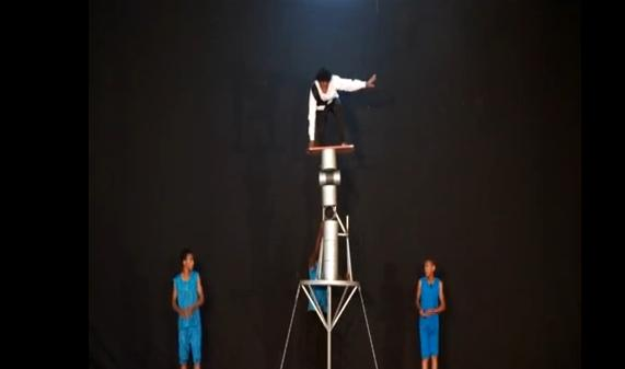 Amazing Talent - Circus Rola Bola Acts - Zion Circus