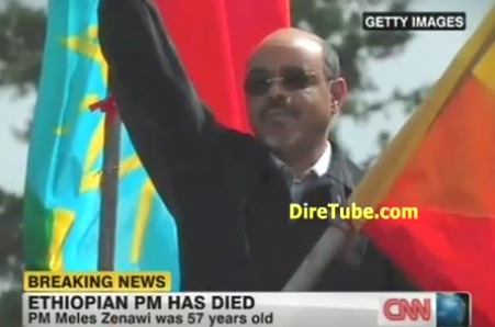 A Report on PM Meles Zenawi Death, Deputy PM takes Position