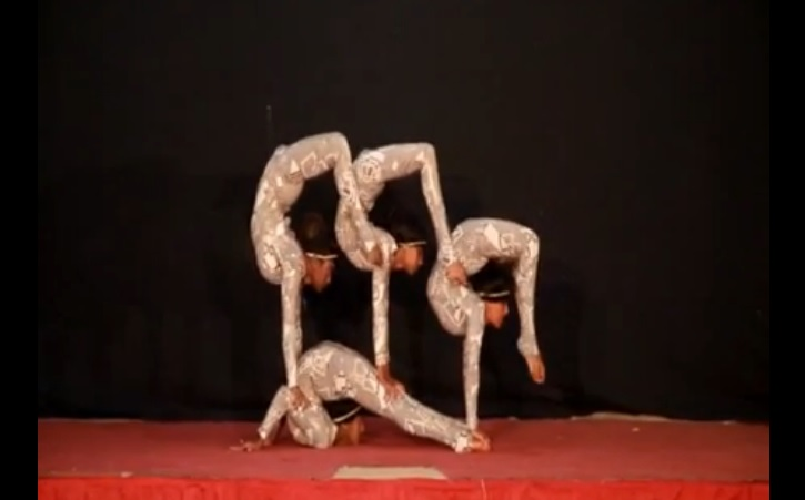 Queens Contortion Act From Zion Circus Ethiopia