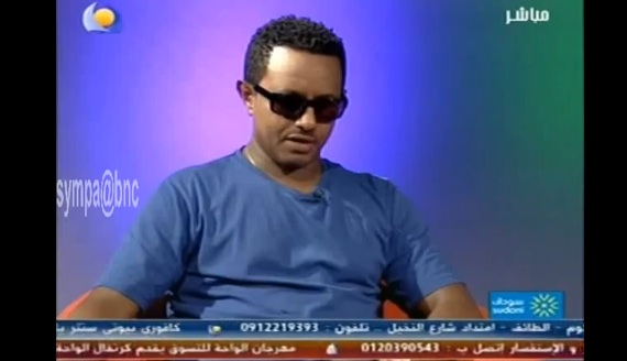 Teddy Afro in Sudan and Interview on Blue Nile TV