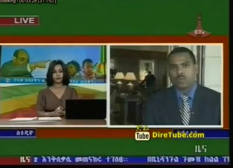 The Latest Full 1 Pm October 24, 2012 Amharic News
